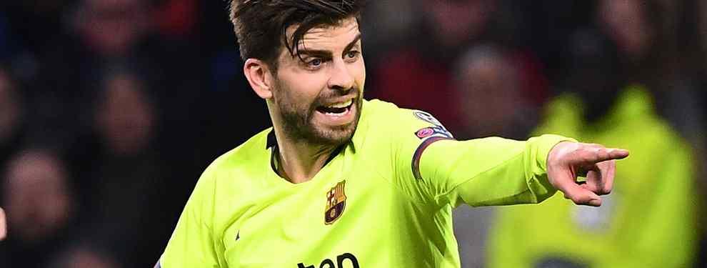 Piqué lo sabe: El crack azulgrana que ha tocado el Madrid para el año próximo (y no es Coutinho)