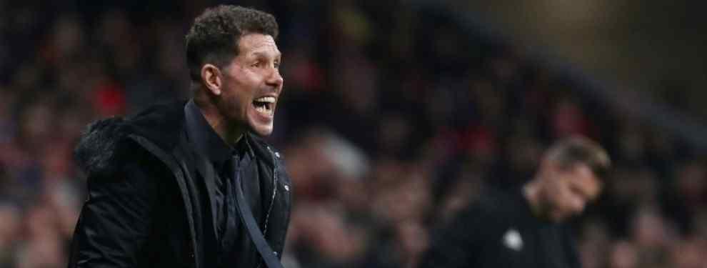 Simeone sentencia a tres cracks y pide tres fichajes para seguir en el Atlético de Madrid