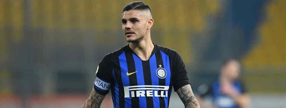 Mauro Icardi tiene precio y ganas de desaparecer del Inter de Milán.  El argentino del equipo italiano vive en una montaña rusa continua con el club transalpino.