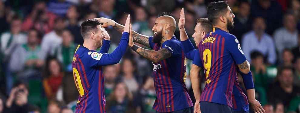 Giovanni lo Celso, argentino de Rosario, como Messi, quería meter la cabeza en el Barça tras una cesión del PSG al Betis que lo ha colocado como una de las sensaciones de la Liga.