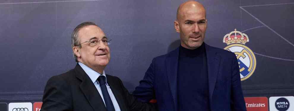 Florentino Pérez tiene una lista de más de 30 fichajes: todos los nombres y los elegidos de Zidane