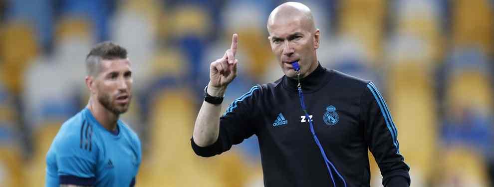 Sergio Ramos tiene la lista negra de Zidane: los despidos que pide a Florentino Pérez