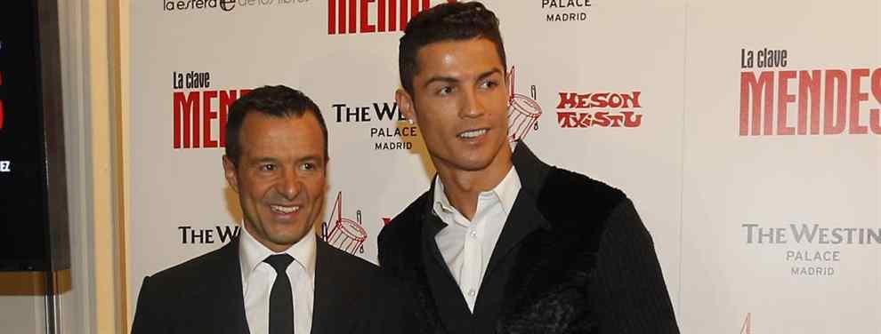 El nuevo Cristiano Ronaldo que Jorge Mendes ofrece a Zidane (y a Florentino) para el Real Madrid
