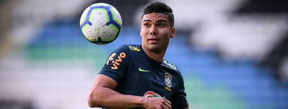 'Zizou' autoriza la venta del brasileño -que ha despertado el interés del PSG, club en el que podría reunirse con Neymar- siempre y cuando Florentino Pérez logre el más difícil todavía: sacar a Kanté del Chelsea.