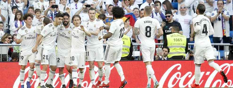 Florentino Pérez tiene una máxima que aplica a pie juntillas: antes de entrar hay que dejar salir.  La lista de bajas que maneja Zidane la repiten, casi ya de memoria, del primero al último en los despachos del Madrid.