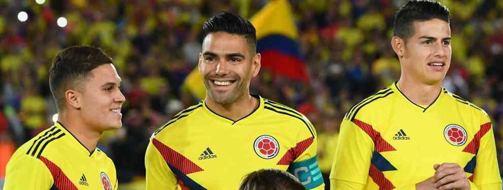 James Rodríguez va a piñón fijo. El colombiano tiene un sueño que no niega a nadie y ha confirmado a sus compatriotas y compañeros con Colombia, los Falcao y compañía.