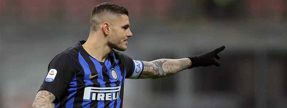 El precio de Mauro Icardi sigue cayendo en picado. Tasado en un principio en 110 millones de euros, su cláusula de rescisión, los últimos escándalos vividos en el Inter han bajado su tasación.