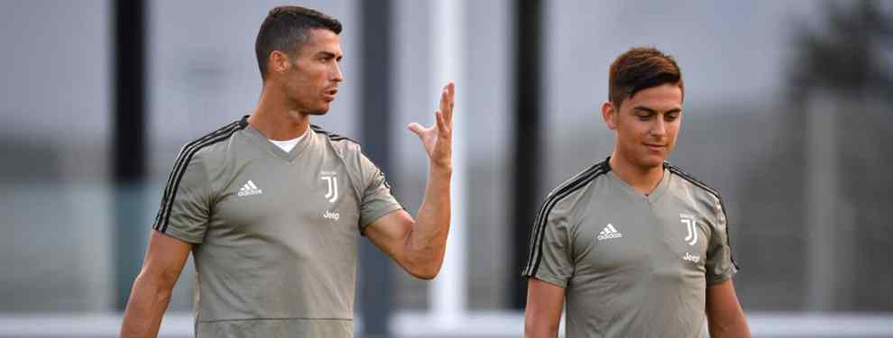 Cristiano Ronaldo bendice al sustituto de Dybala (y el argentino tiene equipo para el año próximo)