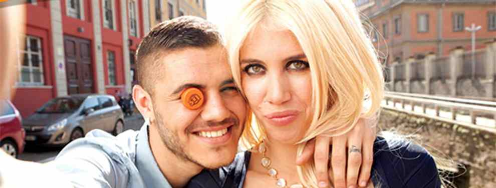 La relación entre Mauro Icardi y Wanda Nara ya empezó con unos cuernos. El delantero del Inter de Milán conoció a la que por aquel entonces era la mujer del azulgrana Maxi López.