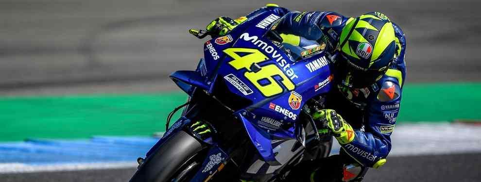 Resiste los que dan a Valentino Rossi por muerto lo tienen crudo.  El italiano es la comidilla de MotoGP después de que se filtrara desde Italia que 'Vale' podría poner su retirada sobre la mesa