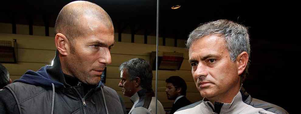 Zidane recibe el primer palo de Mourinho: el aviso que llega a Florentino Pérez (y al Real Madrid)
