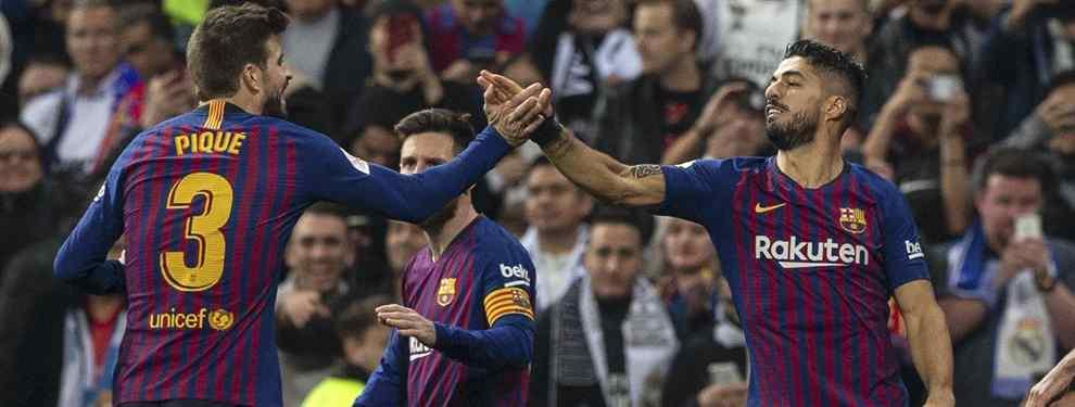 Puerta cerrada. Antoine Griezmann va a necesitar mucho más que las palabras amables de Umtiti para meter la cabeza en un Barça que despreció.
