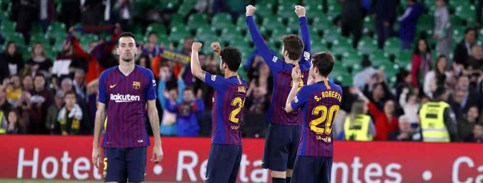 Messi, Luis Suárez y Piqué aprueban el adiós de un 'pufo' del Barça