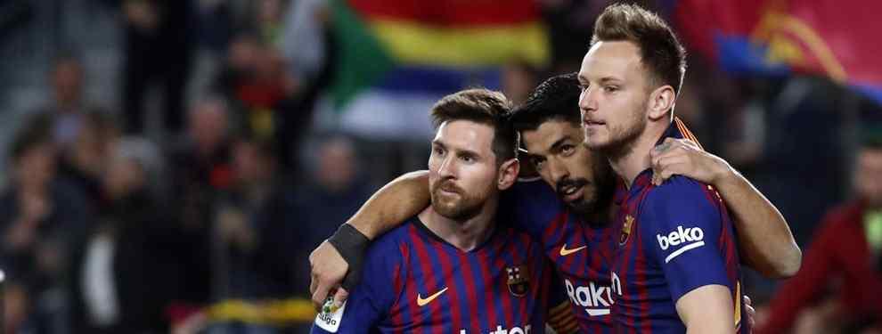 La salida de Rakitic se da por hecha. El croata dirá adiós al Barça cinco años después de su llegada, a pesar de que sigue siendo pieza clave para Ernesto Valverde, como ya lo fue con Luis Enrique.