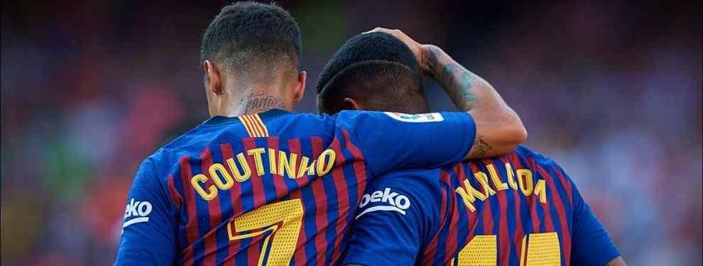 Messi mete a Coutinho y Malcom en un cambio de cromos galáctico para el Barça