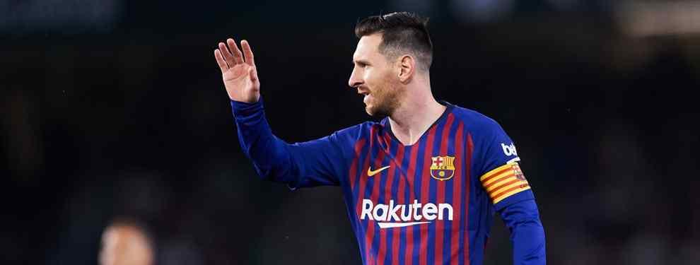 Leo Messi no duda. Las tres prioridades para el verano del Barça son fichar un recambio de Luis Suárez y de Jordi Alba, que no les discuta la titularidad, un central, como de Ligt, y, ojo: un lateral derecho.