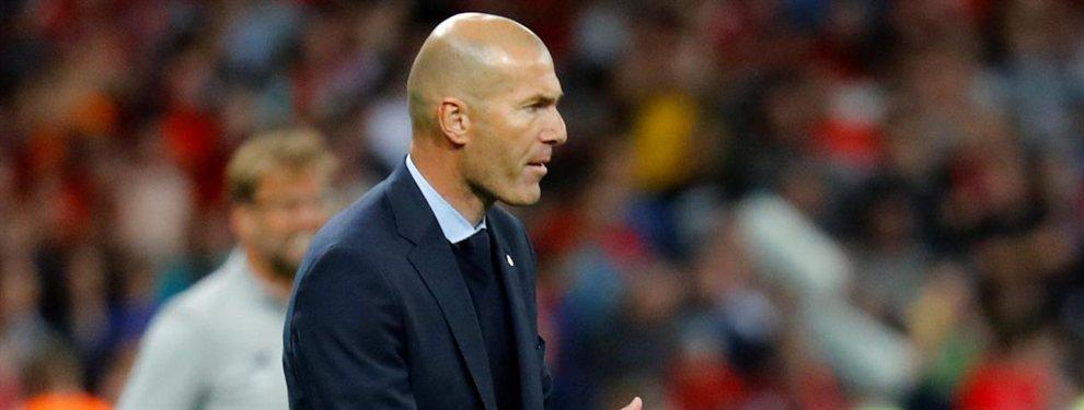 Zidane pega un portazo a uno de los fichajes de Florentino Pérez para el Real Madrid