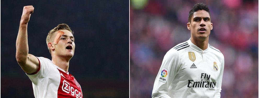 Florentino Pérez ya comienza a vislumbrar el futuro. Y en él, no ve a Raphaël Varane en el Real Madrid, a pesar de que Zinedine Zidane siga insistiendo en retenerle en el equipo.