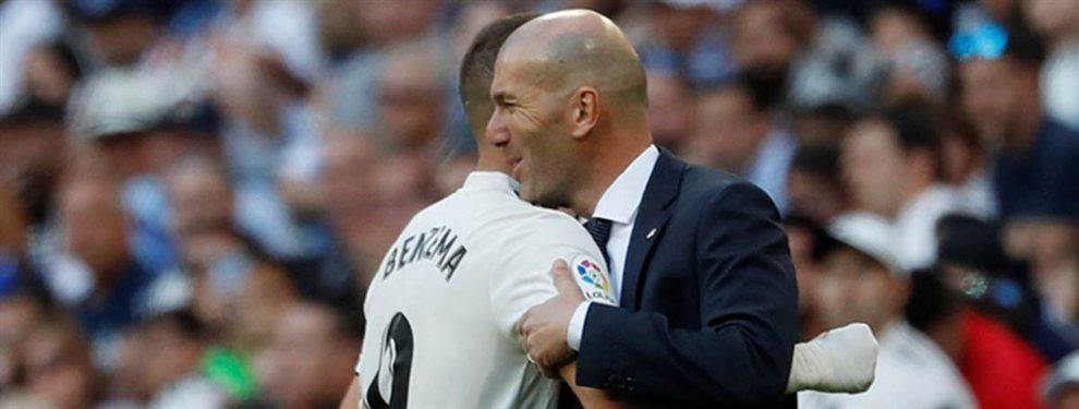 El crack colombiano que se ofrece a Zidane porque no aguanta a un exmadridista de su equipo