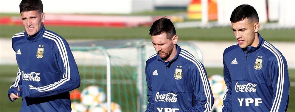 Messi presiona para traer un compañero de selección al Barça (y no es Tagliafico)