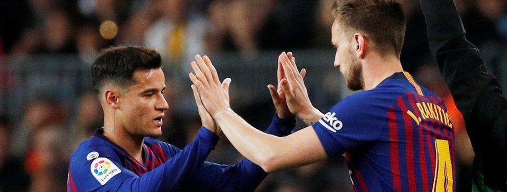 El futuro de varios jugadores del Barça es todavía incierto y el llegar a uno de sus máximos rivales es una posibilidad debido al alto salario que tienen los futbolistas azulgranas.