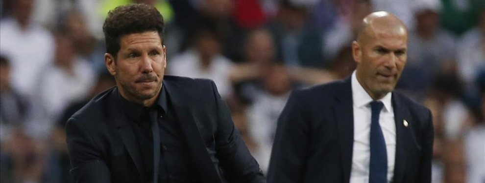El duelo de hermanos galácticos que se puede ver el año próximo en Madrid: Simeone y Zidane, clave