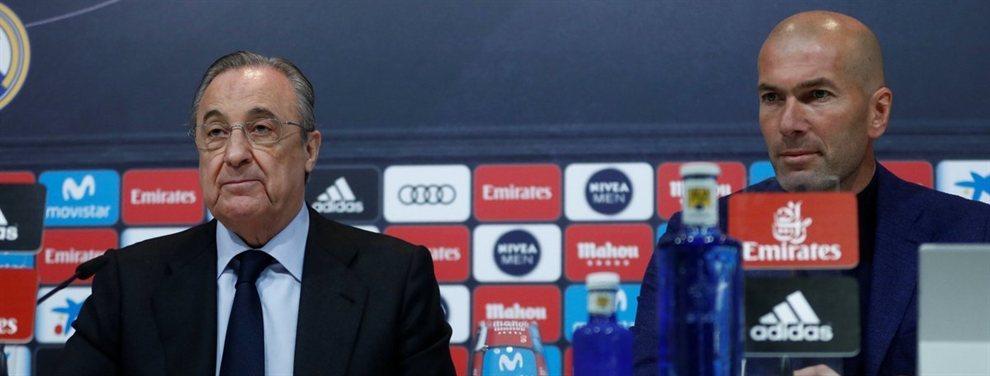 Ni Zidane puede salvarle: el crack del Real Madrid al que Florentino Pérez quiere echar en junio