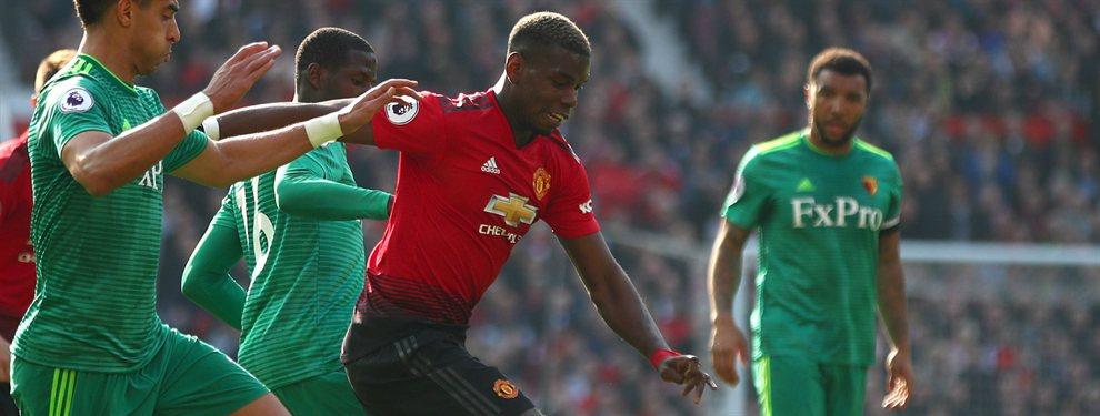 Dos nombres. El Manchester United sabe que retener a Paul Pogba en el Old Trafford será un imposible. El francés quiere dar el salto a un equipo 'top', que aspire a la Champions.