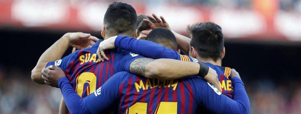 Caliente. El Barcelona no asegura nada, pero tampoco niega la mayor: De Ligt vestirá de azulgrana en junio.  El club culé acaba de lanzar una nueva ofensiva que llega hasta los 70 millones más variables para convencer al Ajax
