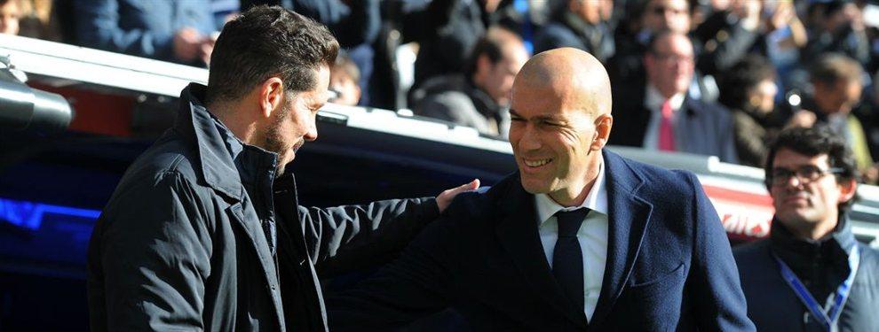 Cambia a Zidane por Simeone: el Atlético golpea (y Florentino Pérez cierra cinco reuniones)