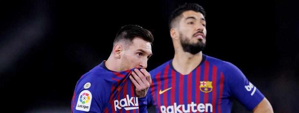 Messi no lo puede ni ver. Luis Suárez no lo traga. Y Piqué lo quiere fuera del Barça