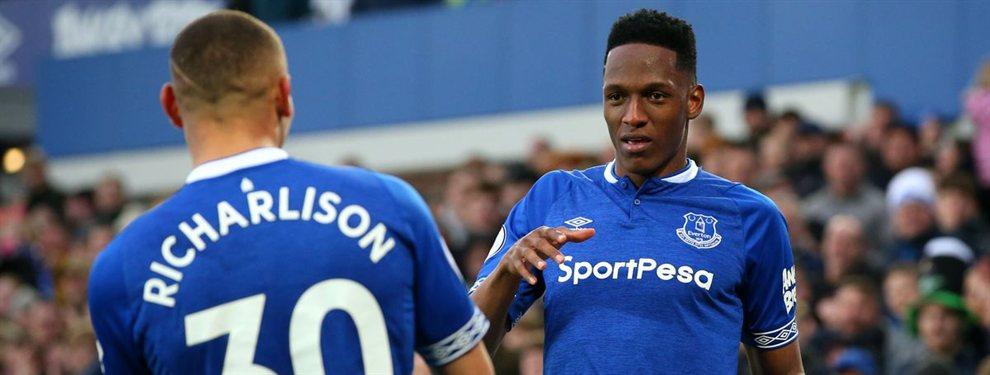 El viaje secreto de Yerry Mina que esconde una pelea muy fea en el Everton