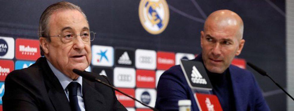 El problema que Florentino Pérez quiere colocar a Zidane: el fichaje que desata la guerra con Ramos