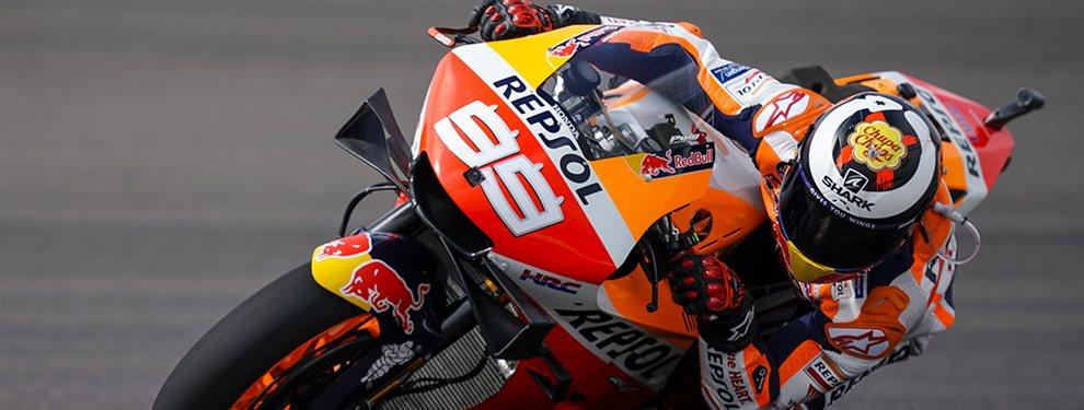 Contra las cuerdas. Jorge Lorenzo no levanta cabeza. De fracasar en Ducati a arrancar su andadura en Honda sumando ridículos. Las excusas de Lorenzo no sirven en Honda donde se empieza a imponer una máxima mayor