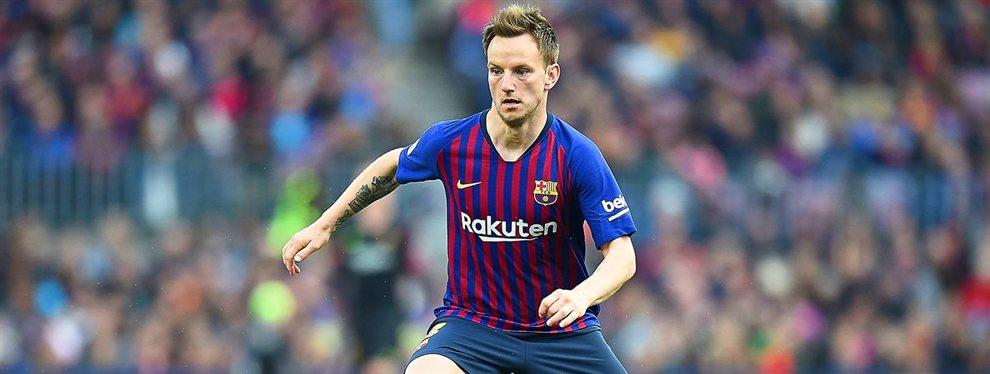 Si se queda Rakitic se va: el jugador del Barça que amenaza con salir (y Messi quiere retenerle)