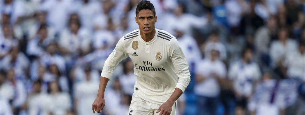 Los dos nuevos galácticos en la agenda de Florentino Pérez para echar a Varane del Real Madrid