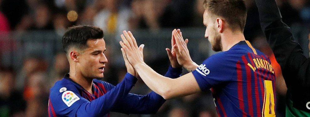 """El crack 'low cost' que prepara el Barça si Rakitic se va con Cristiano: """"Es mejor que Coutinho"""""""
