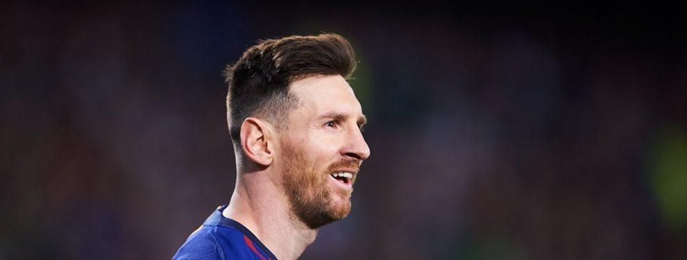 Messi no quiere ver sus opciones comprometidas la temporada que viene, al no tener un respaldo que pueda liberarle un poco la responsabilidad de ser el que cargue la mayor parte del peso ofensivo del equipo.