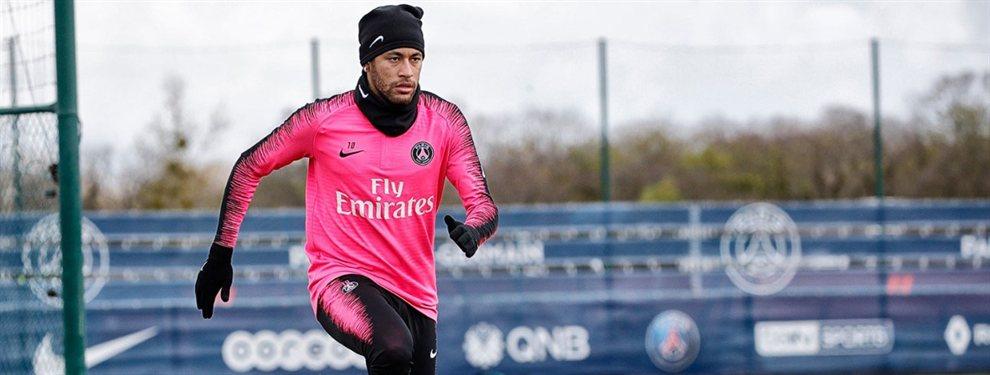 Neymar duda sobre su futuro. El Real Madrid, su gran sueño, le ha quitado de la lista de objetivos prioritarios para centrarse en el fichaje de Kylian Mbappé. Sigue teniendo ofertas, pero ninguna tan atractiva.