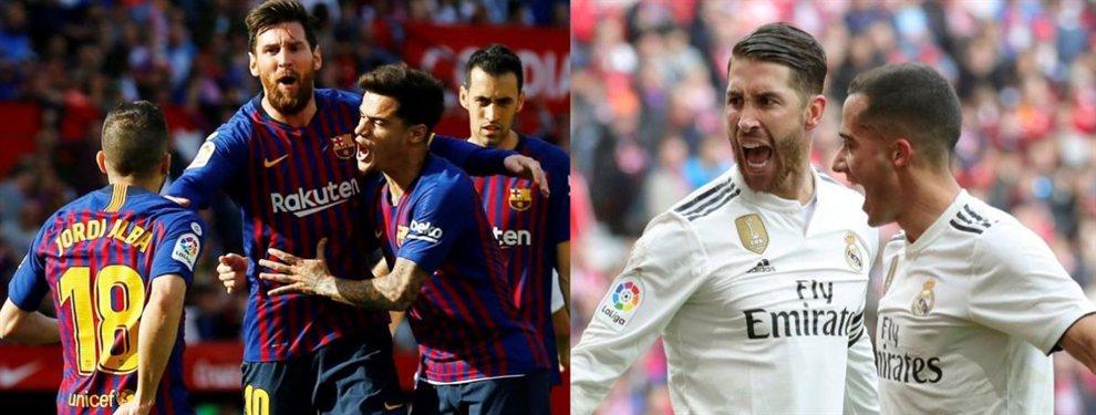 Barça y Real Madrid pelean seriamente para llevarse la puja por Tanguy Ndombélé, futbolista del Olympique de Lyon, y al que se disputan todos los grandes de Europa.
