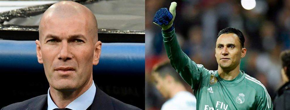 Zidane cierra los tres porteros del Real Madrid 2019-20: hay un fichaje (y una sorpresa)