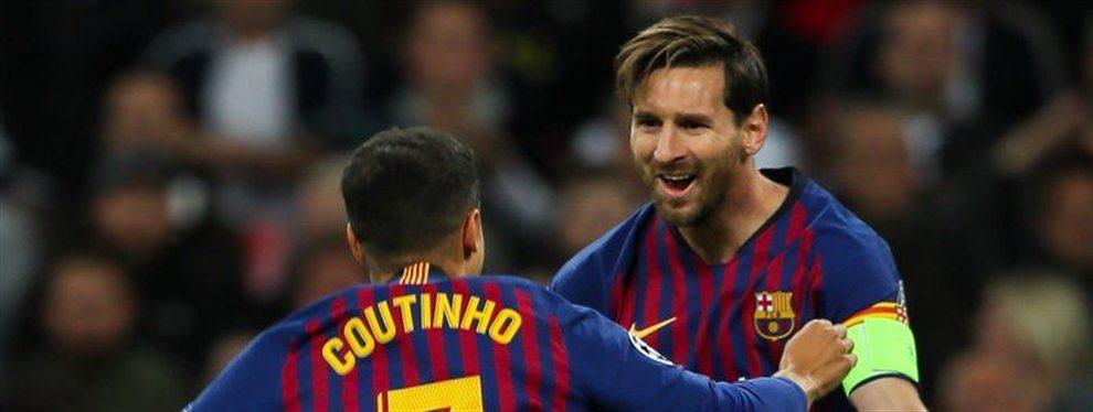 La salida de Philippe Coutinho del FC Barcelona está cantada. Pese a que el atacante brasileño ha insistido este fin de semana que no está pensando en irse a la Premier League
