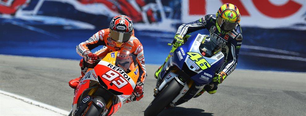 Marc Márquez calienta el MotoGP con un aviso a Valentino Rossi