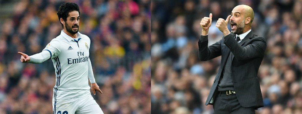 Pep Guardiola lo cambió por Isco: el titular del Real Madrid que se lleva al Manchester City