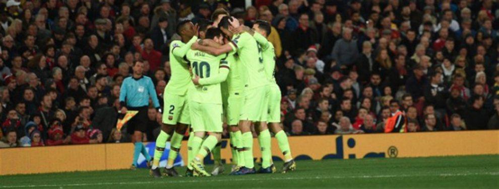 Victoria del Barça ante un Manchester United muy pobre. El cuadro azulgrana cumplió los pronósticos y superó, sin demasiados problemas, al equipo de Ole Gunnar Solksjaer.
