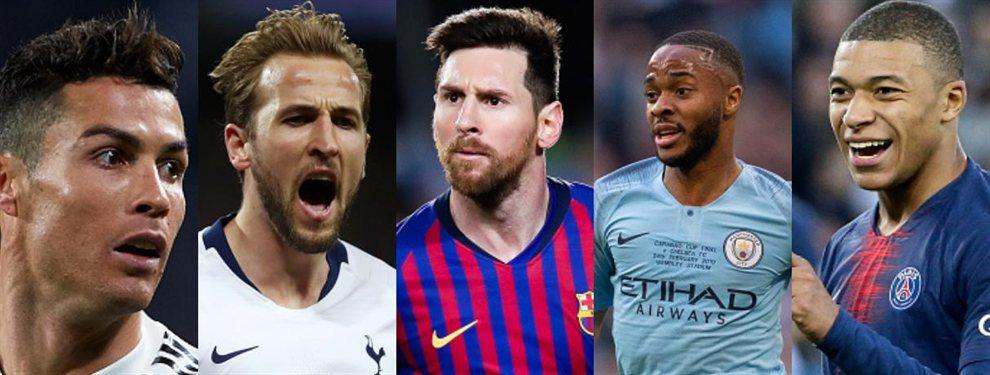 Barça, Tottenham, la Juventus de Cristiano Ronaldo y el PSG de Neymar siguen a una nueva perla