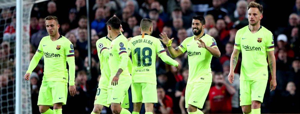 Messi, Piqué, Suárez y compañía estallan contra un crack del Barça (y no es Coutinho)