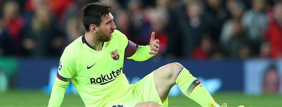 ¿Real Madrid? No, gracias. Quiere jugar con Messi. Y pasa de Zidane