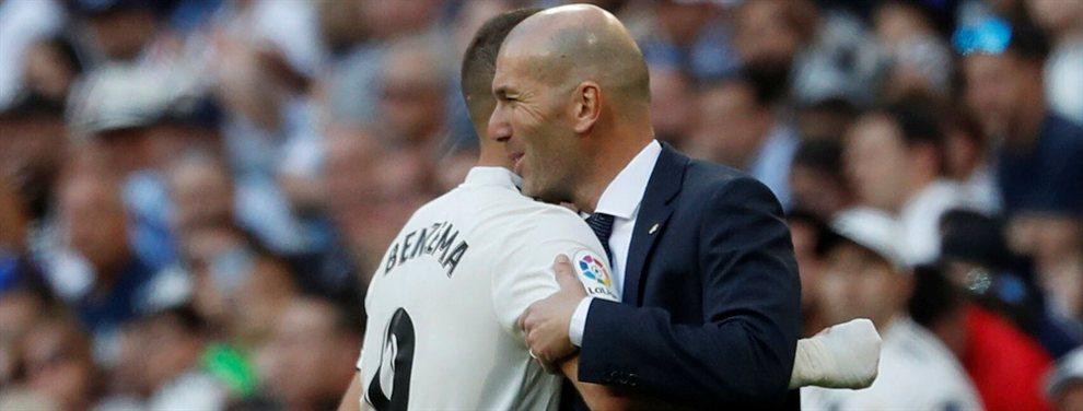 El nuevo Benzema que Florentino Pérez cierra para el Real Madrid y Zidane no quiere ni ver
