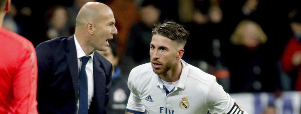 Zidane elige al nuevo Sergio Ramos del Real Madrid (y hay sorpresa de las gordas)